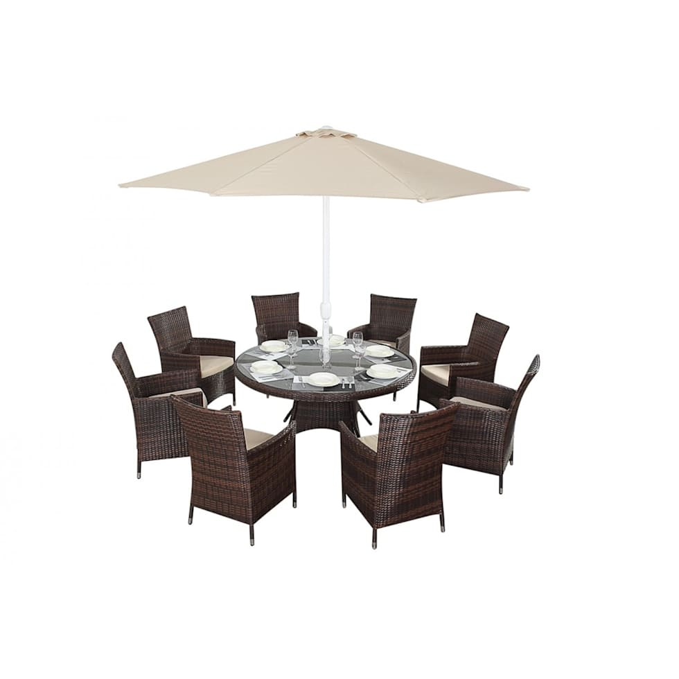 Parasol Table And Chairs Images Umbrella Centerpiece Mos