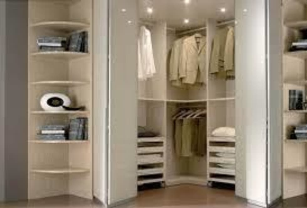 Idee arredamento casa interior design homify - Cabina armadio angolare mondo convenienza ...