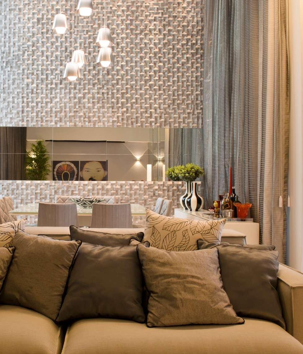 SALA DE JANTAR: Salas de jantar modernas por criarprojetos | ARQUITETURA . INTERIORES . ENGENHARIA