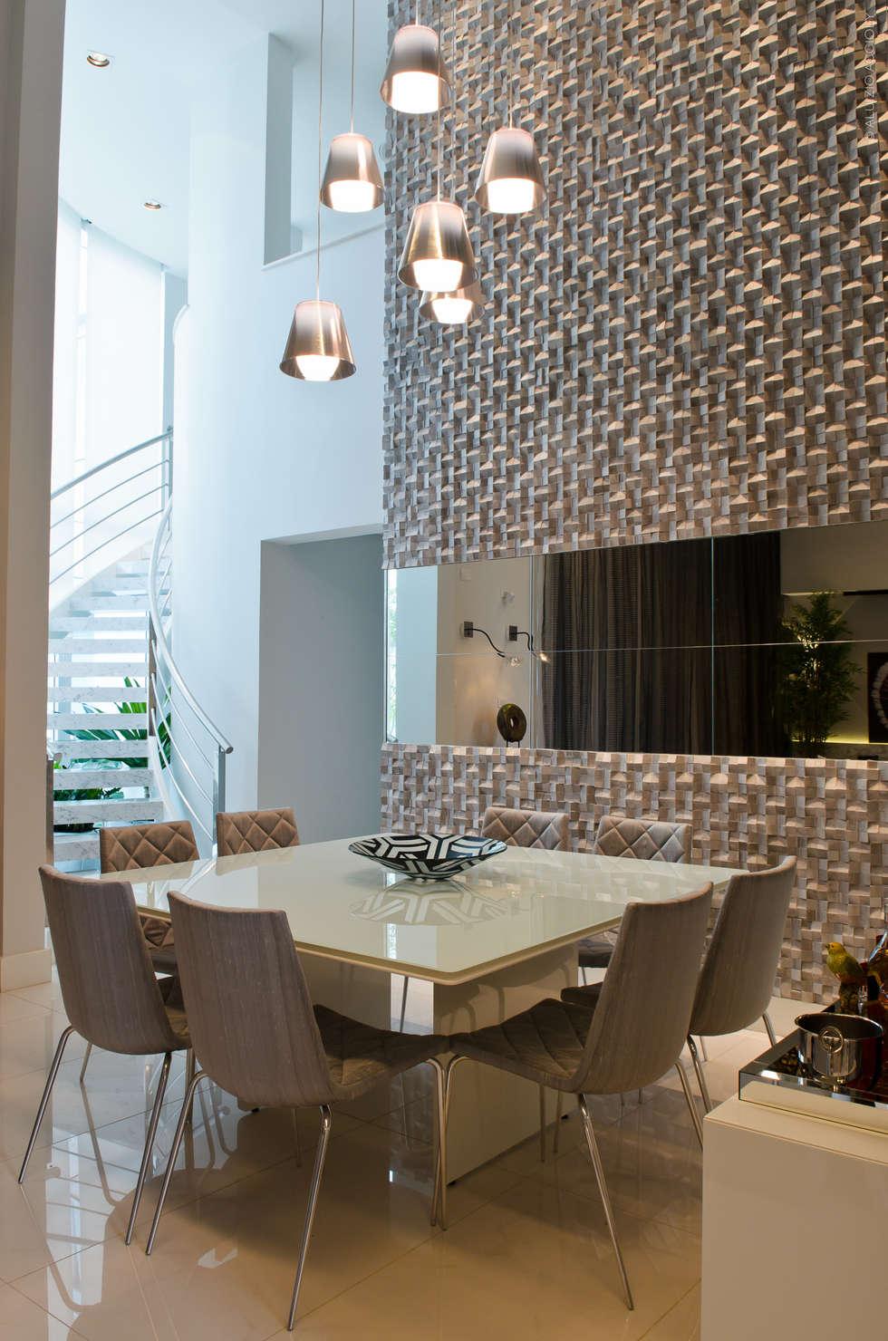 SALA DE JANTAR: Salas de jantar modernas por criarprojetos   ARQUITETURA . INTERIORES . ENGENHARIA
