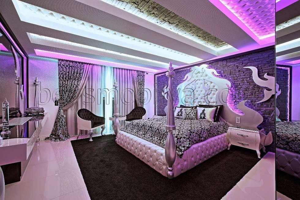 Akabe Mobilya San ve Tic. Ltd. Şti – Özel Tasarım Yatak Odası Takımı: klasik tarz tarz Yatak Odası