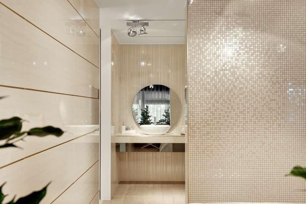 SHOWROOM LOVE TILES Lisboa 2013: Casas de banho modernas por Catarina Batista Studio