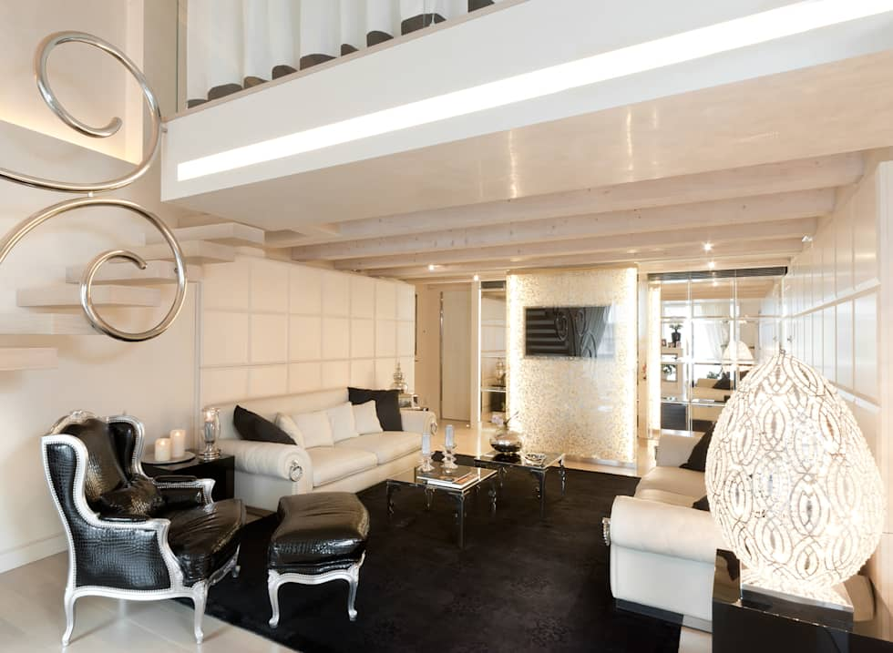 Dandy vittoriano soggiorno in stile in stile eclettico di - Casa stile vittoriano ...