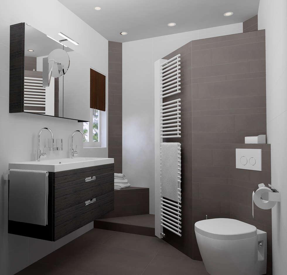 Idee n inspiratie foto 39 s van verbouwingen homify - Foto kleine badkamer ...