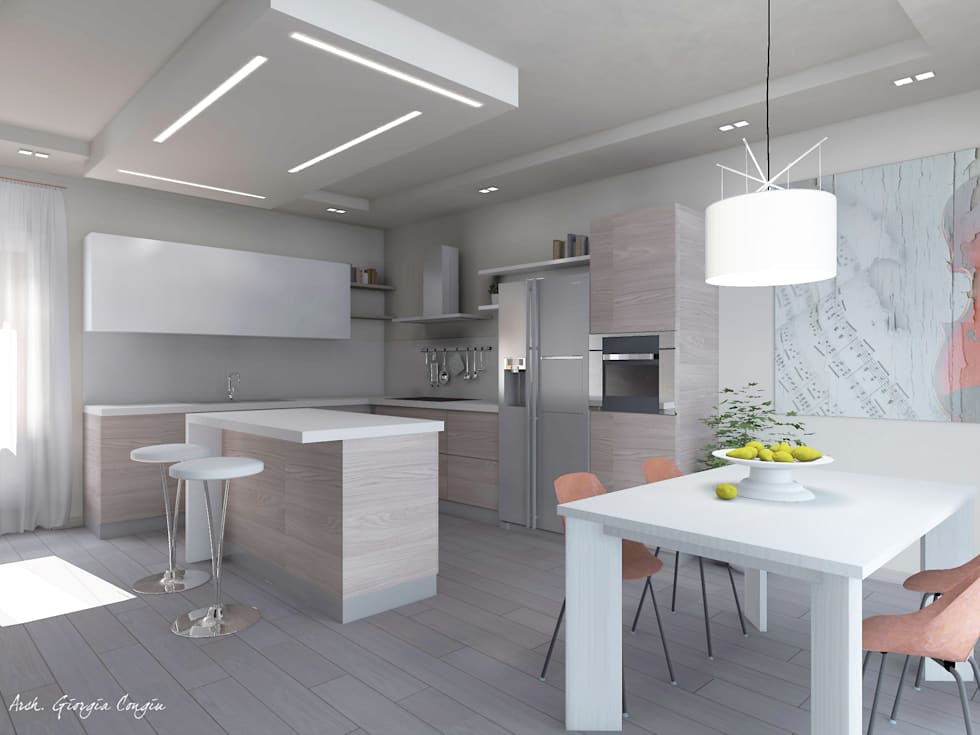Idee arredamento casa interior design homify for App arredamento interni
