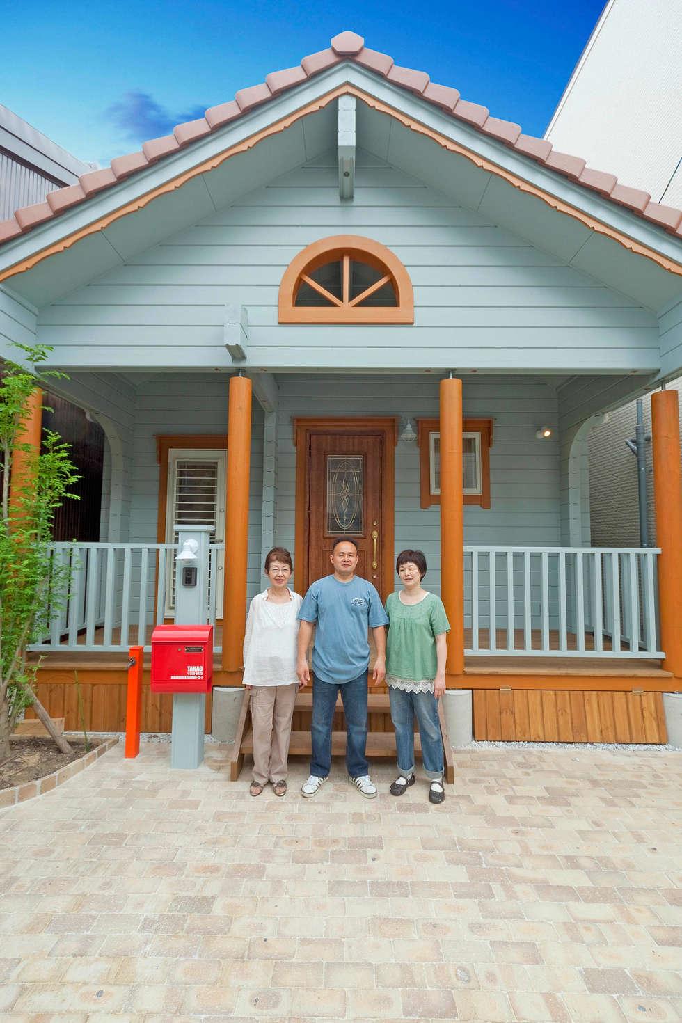Blockhaus minimal japan takao: ausgefallene häuser von finnscania ...