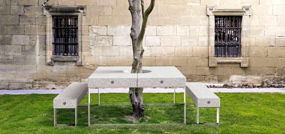 Fotos de jardines de estilo moderno de el mueble moderno - El mueble jardines ...