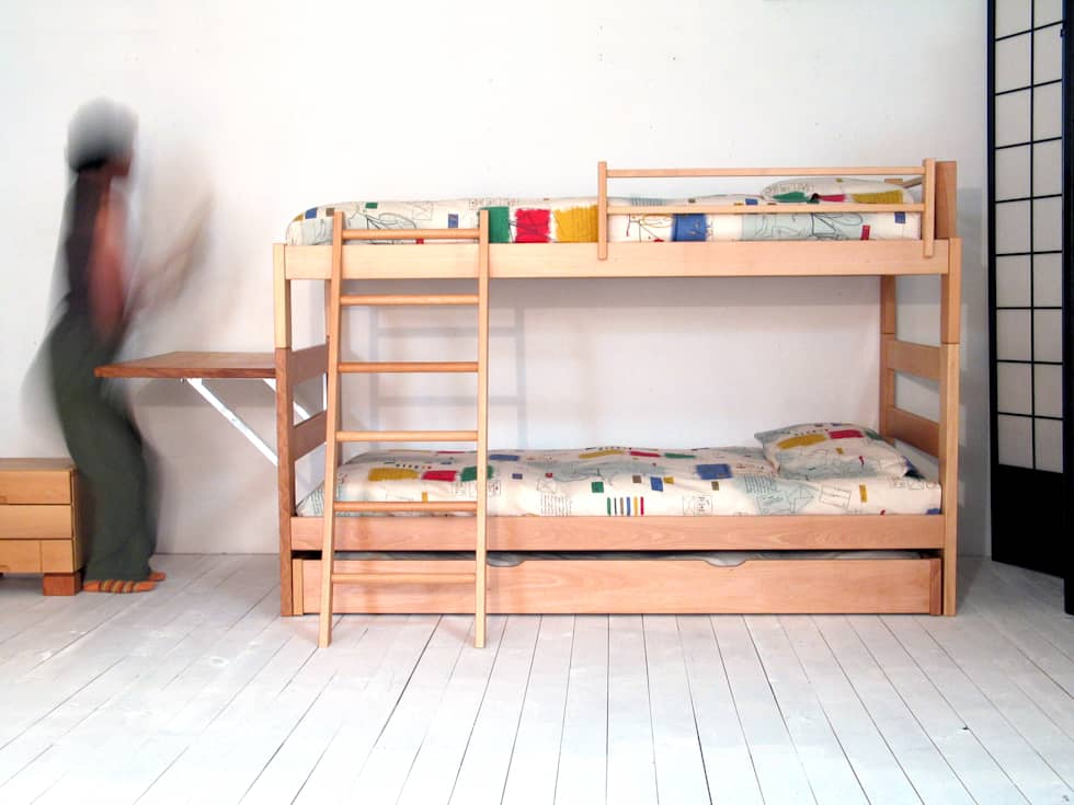 Cama nido con litera top fabulous conjunto nido y litera for Litera con cama nido