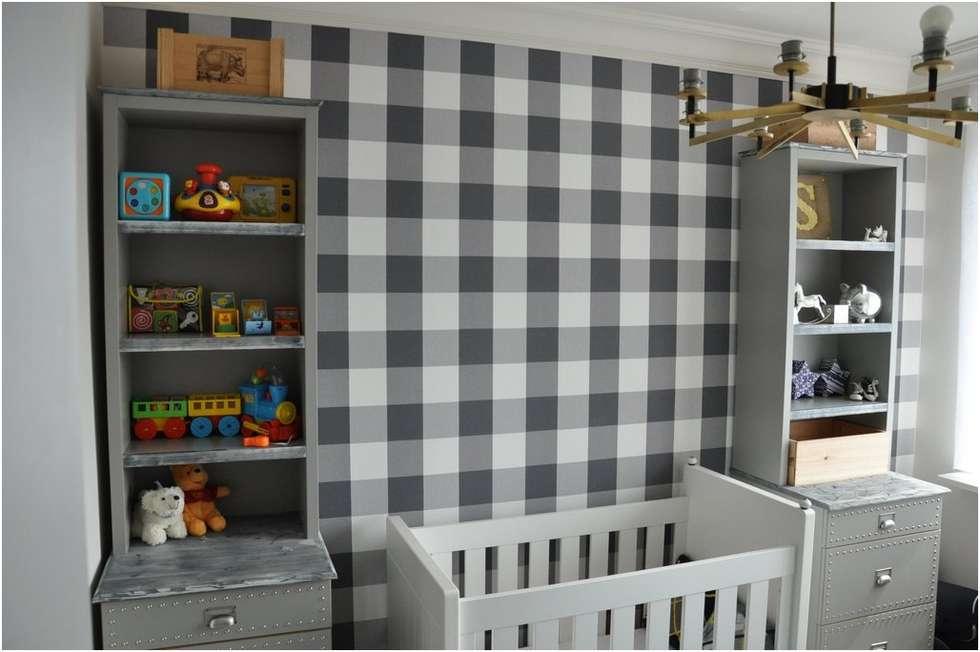 Eklektyczne meble w pokoju dziecięcym vintage: styl , w kategorii Pokój dziecięcy zaprojektowany przez MG Interior Studio Michał Głuszak