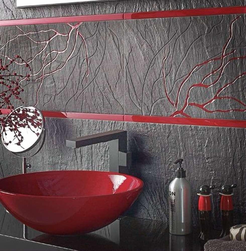 Plaza Yapı Malzemeleri – İtalyan Banyo Seramikler: modern tarz Banyo