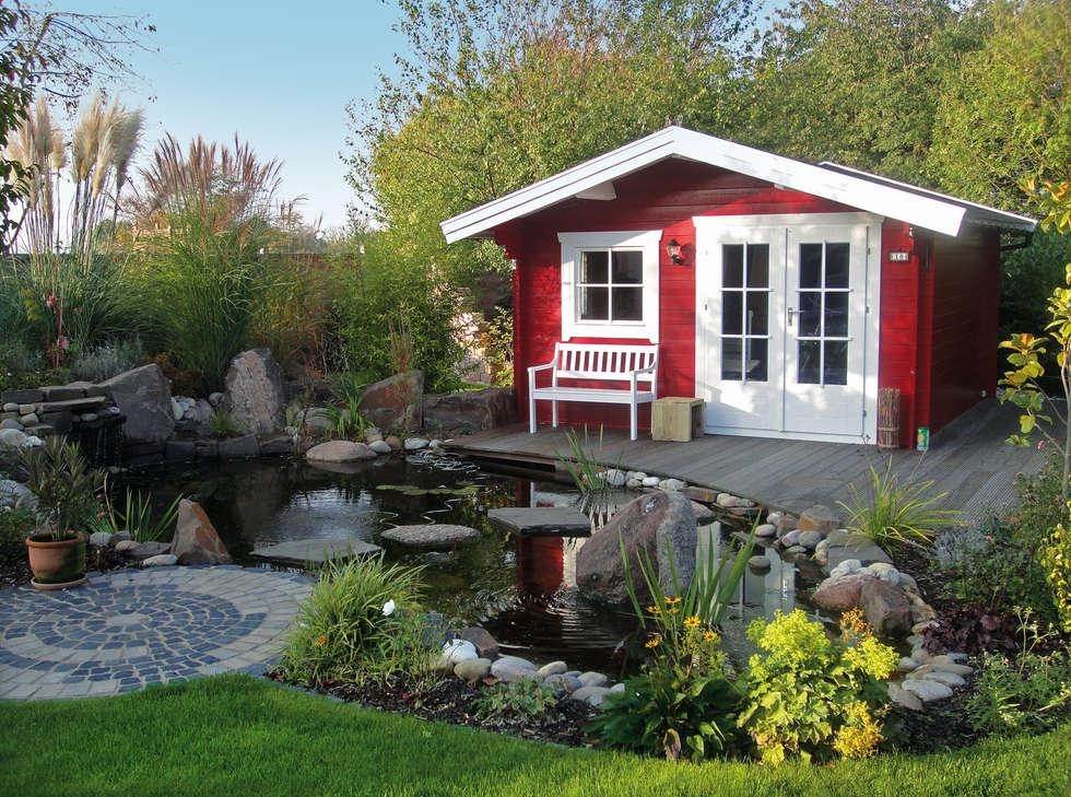 Garden Affairs Ltd: kırsal tarz tarz Bahçe