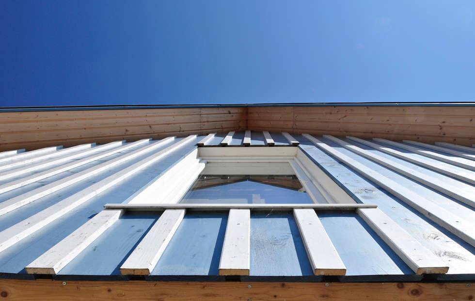 Holzfassade Detail wohnideen interior design einrichtungsideen bilder homify