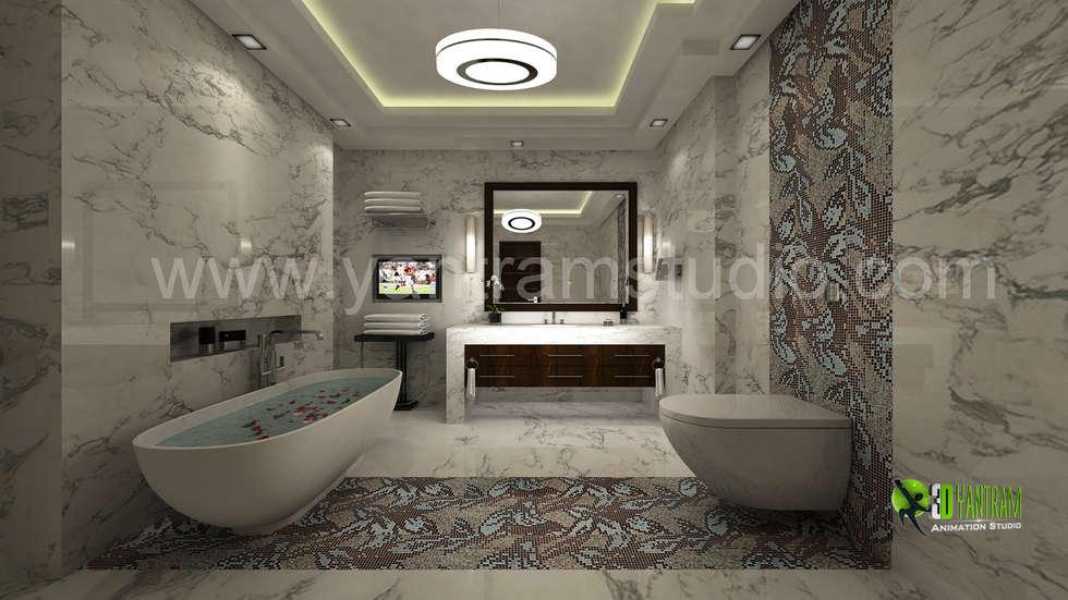 Interior design ideas redecorating remodeling photos for Bathroom interior design app