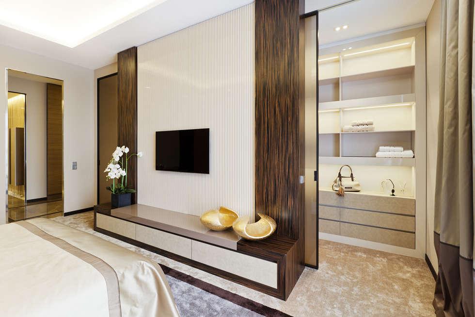 Спальни в . Автор – NG-STUDIO Interior Design