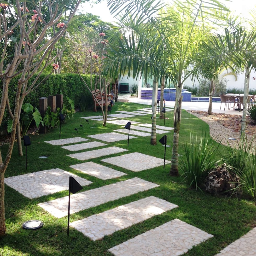 Fotos de decora o design de interiores e reformas homify for Ideas piscinas jardin