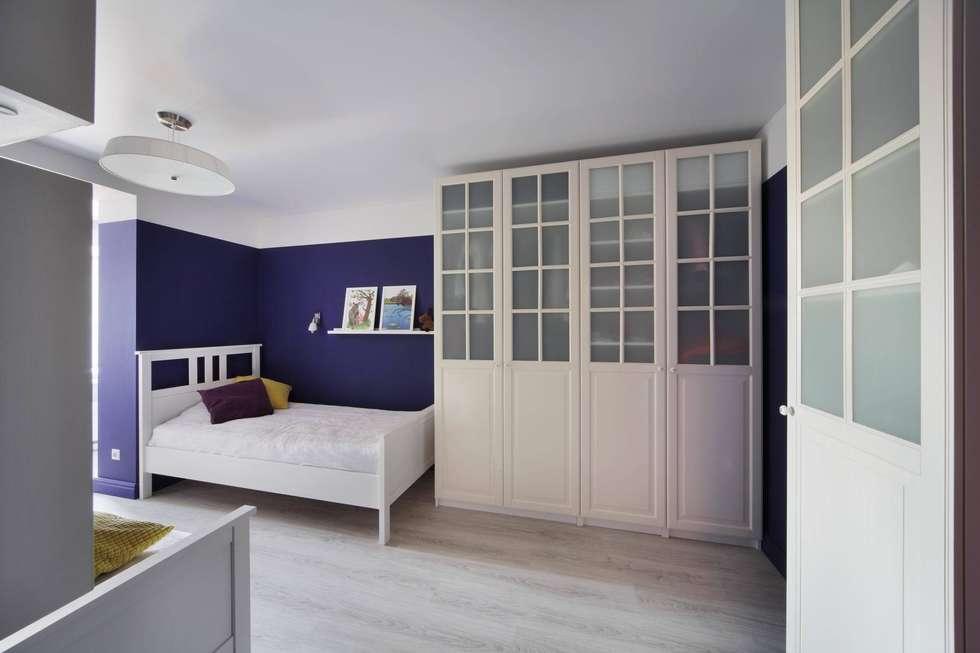 Комната дочек: Детские комнаты в . Автор – Студия дизайна интерьера 'Градиз'