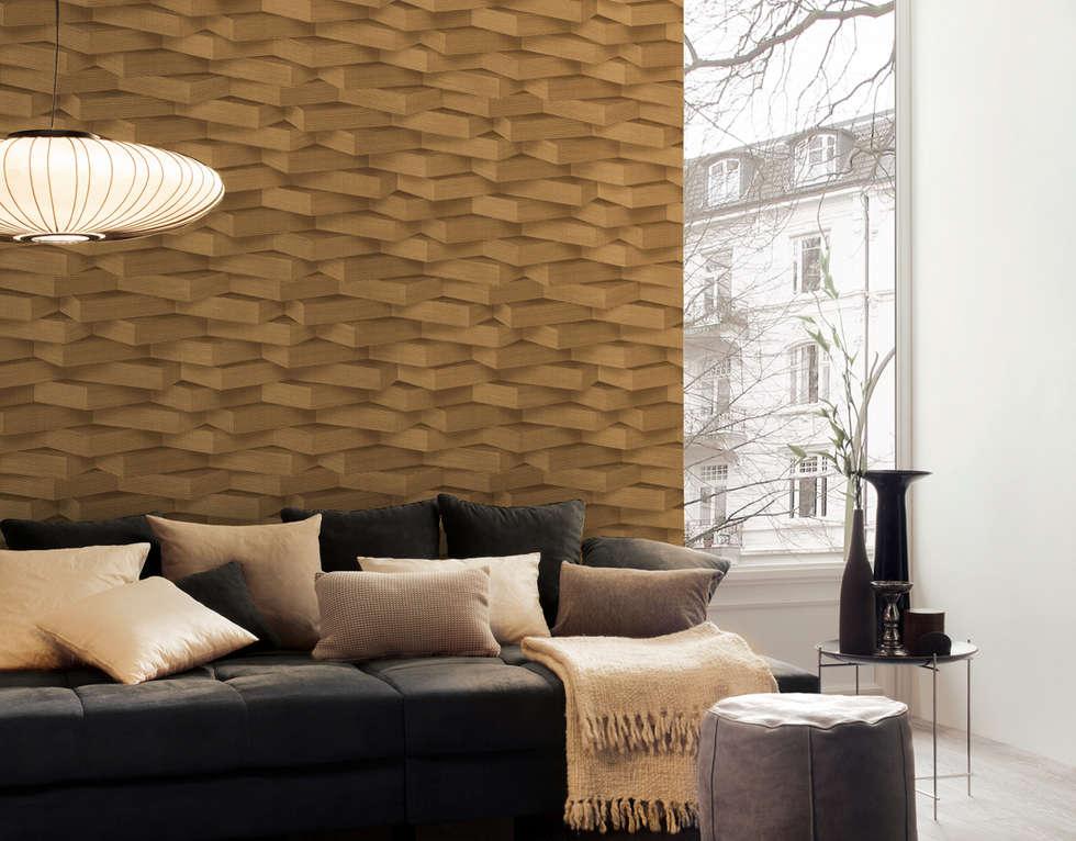Wohnideen interior design einrichtungsideen bilder - Disbar papeles pintados ...