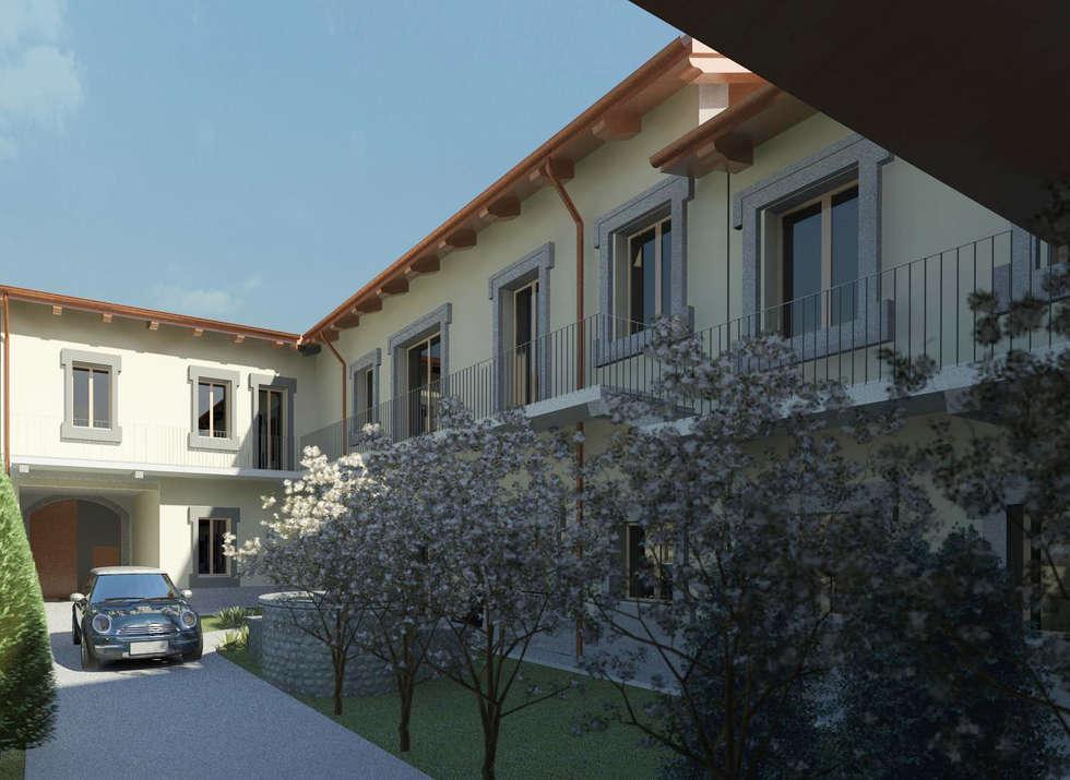 Piano di recupero : Case in stile in stile Classico di macioce -tamborini Architetti Associati
