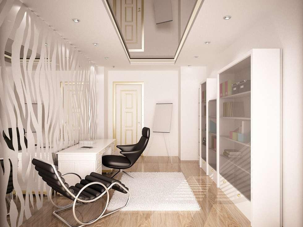 Sinar İç mimarlık – Çalışma Odası: klasik tarz tarz Çalışma Odası