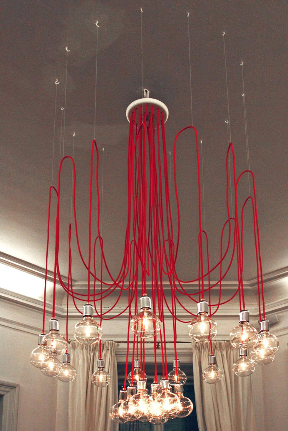 Lampa CableTWENTYFOUR w endorfina foksal: styl , w kategorii Gastronomia zaprojektowany przez CablePower
