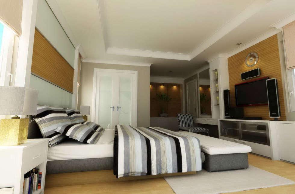 Ysk Tadilat – Tasarım Uygulama: akdeniz tarzı tarz Yatak Odası