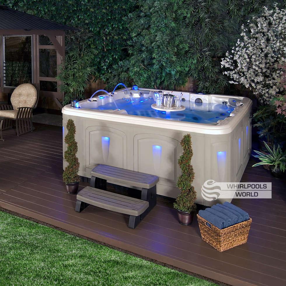 Whirlpool outdoor balkon  Wohnideen, Interior Design, Einrichtungsideen & Bilder   homify