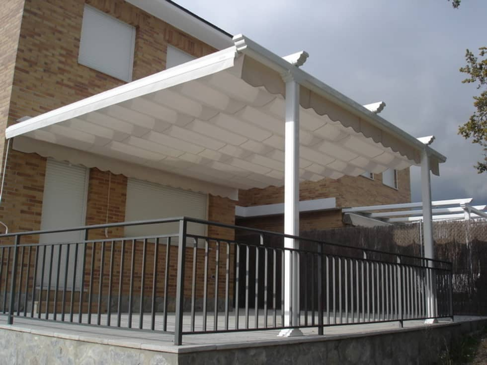 terrazas con pergolas rems ofrece en madera cobertizos terrazas pergolas quinchos pergola con. Black Bedroom Furniture Sets. Home Design Ideas