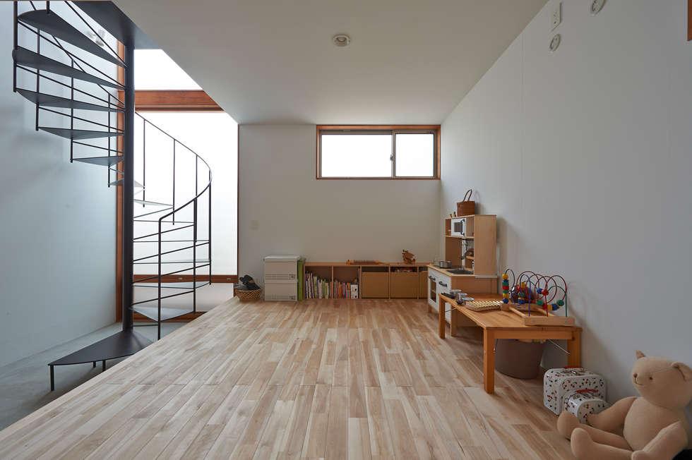 ユーティリティスペース(現在は子供スペース): (有)菰田建築設計事務所が手掛けた和室です。