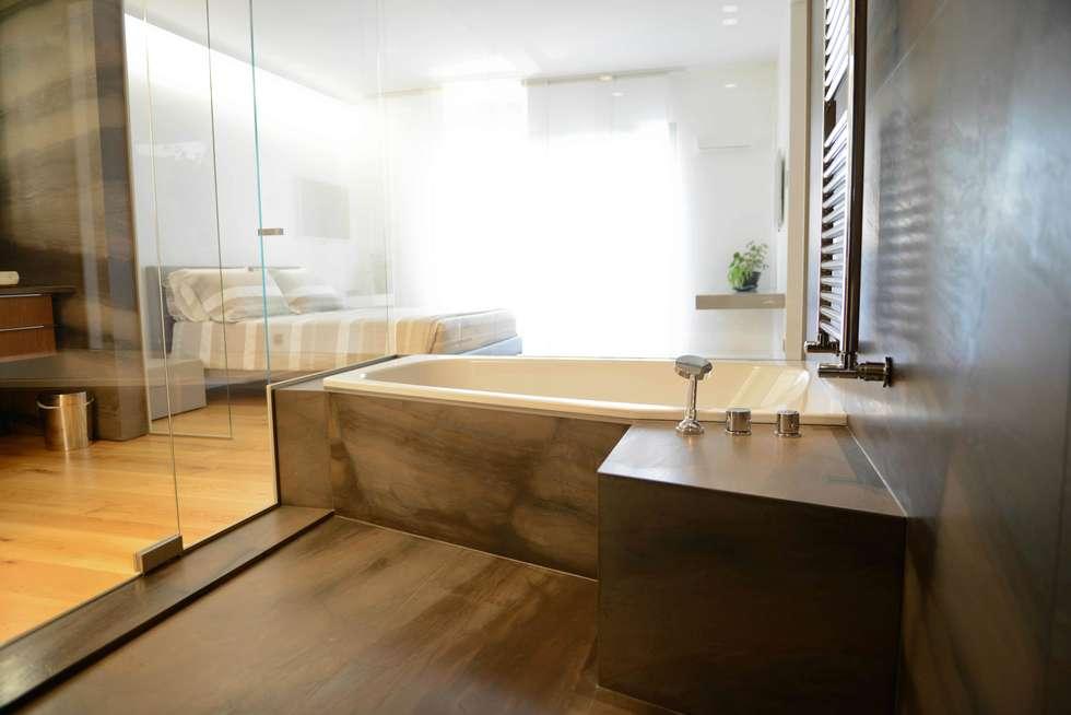Private wellness: Spa in stile in stile Moderno di STUDIO ZERO 30