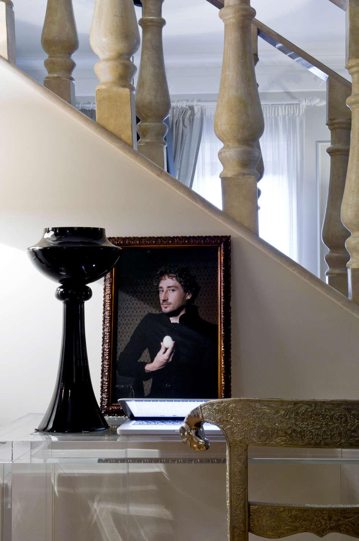 Black Jack Interior - Rome: Soggiorno in stile in stile Moderno di Arch Nouveau Studio
