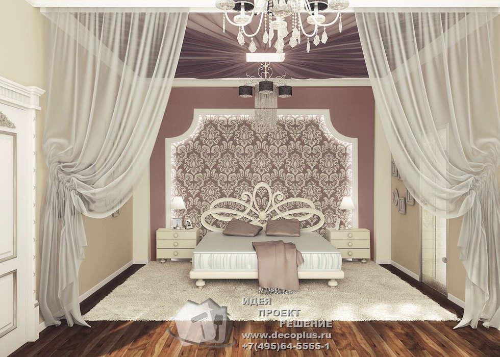 Фото интерьера спальни во французском стиле: Спальни в . Автор – Бюро домашних интерьеров