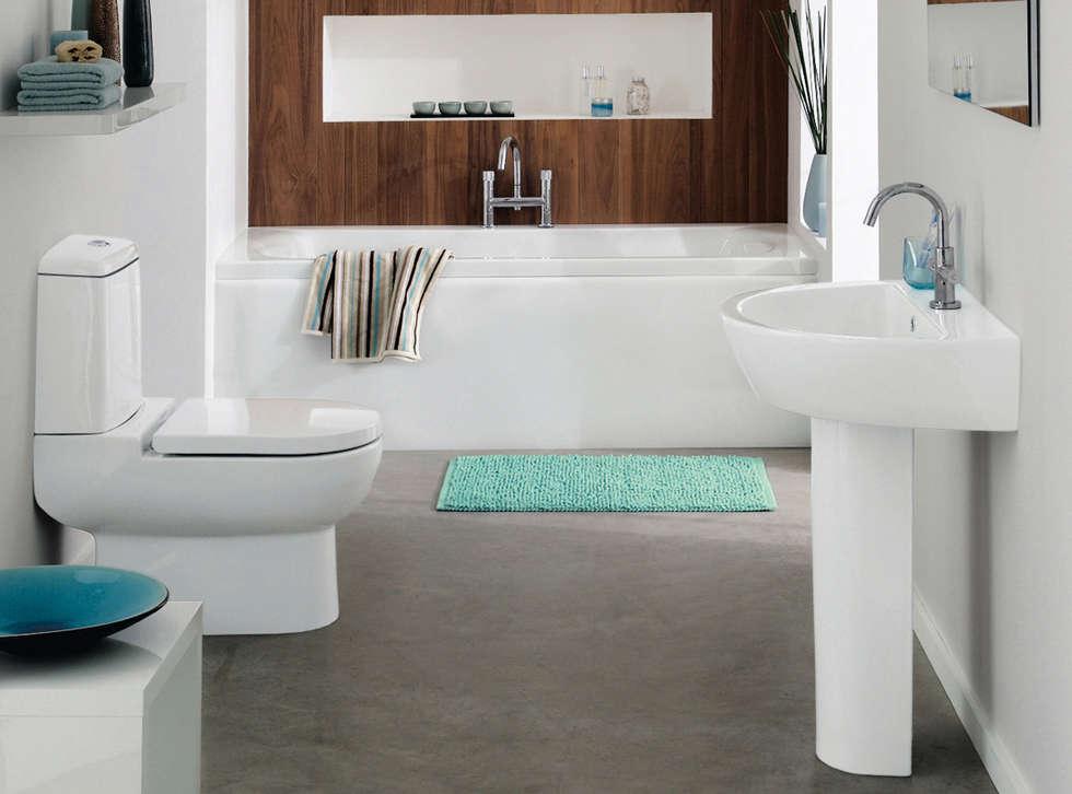 Banyo Tadilatları – Banyo Tadilatı: iskandinav tarz tarz Banyo