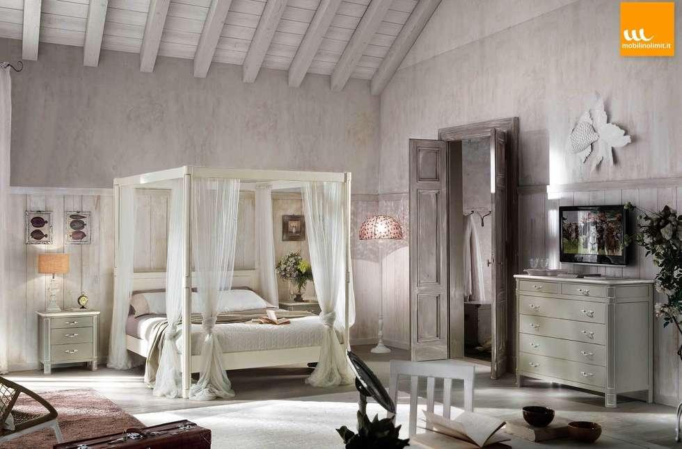 foto di camera da letto in stile in stile country : camera shabby ... - Camera Da Letto Country Chic