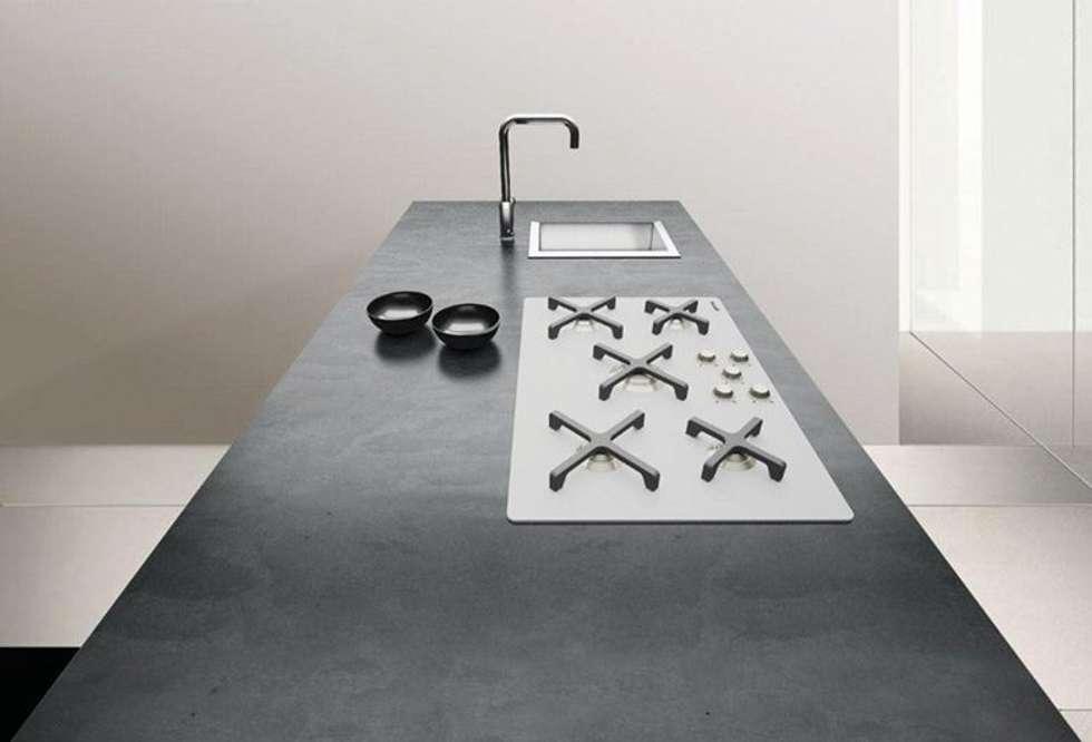 Idee arredamento casa interior design homify - Piani cucina cemento ...