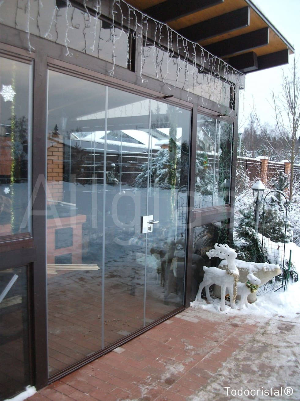 Commercial Spaces by ALLGLASS CONFORT SYSTEM