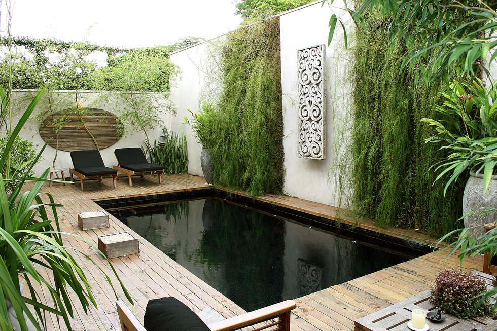 Projetos Diversos: Jardins asiáticos por Quadro Vivo Urban Garden Roof & Vertical