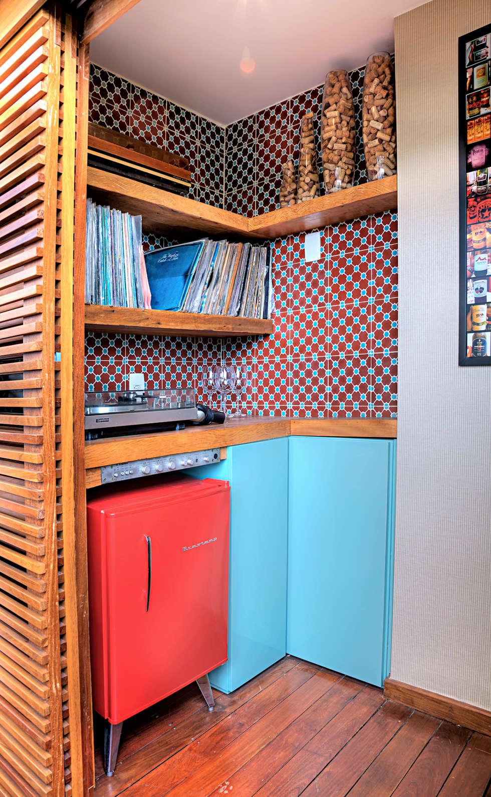 Triplex Alto de Pinheiros: Terraços  por studio scatena arquitetura
