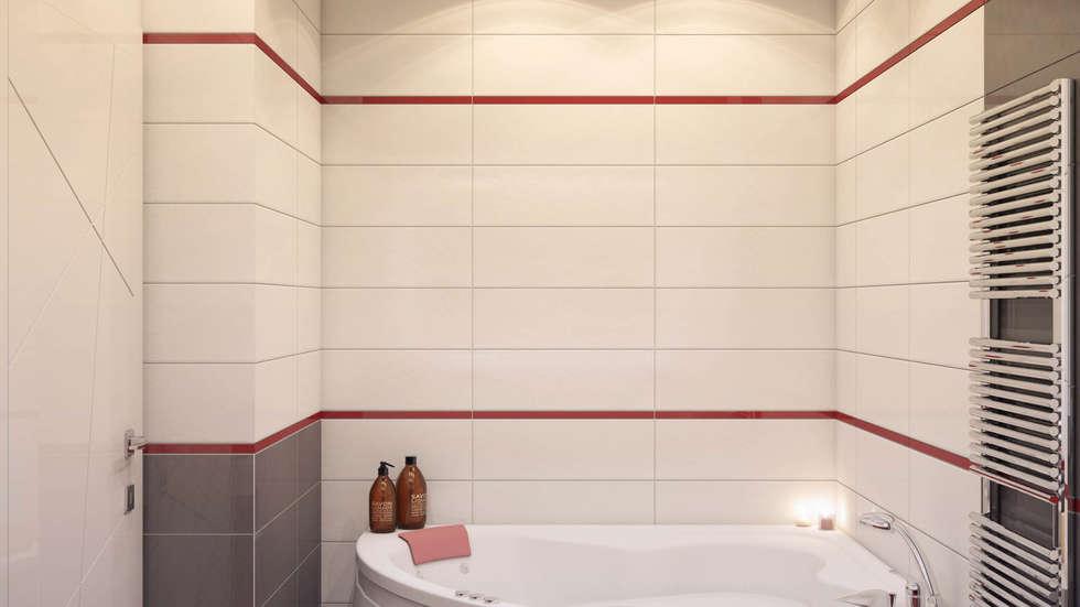 Ванная: Ванные комнаты в . Автор – tatarintsevadesign