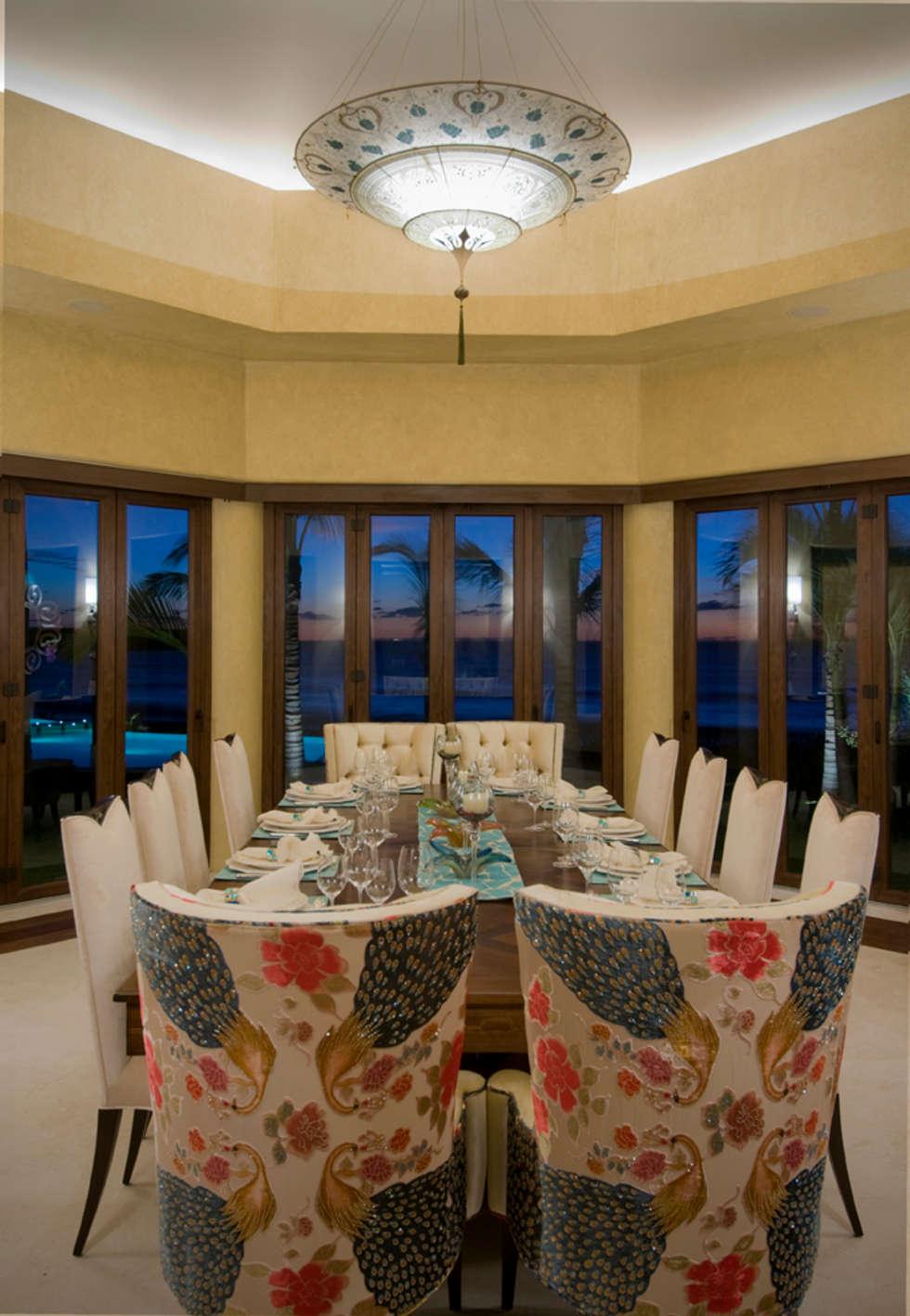 Casa Taheima.: Comedores de estilo topical por BR  ARQUITECTOS