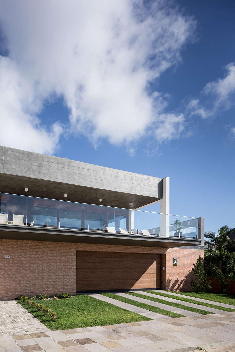 Casa Beira Mar - Seferin Arquitetura: Casas modernas por Seferin Arquitetura