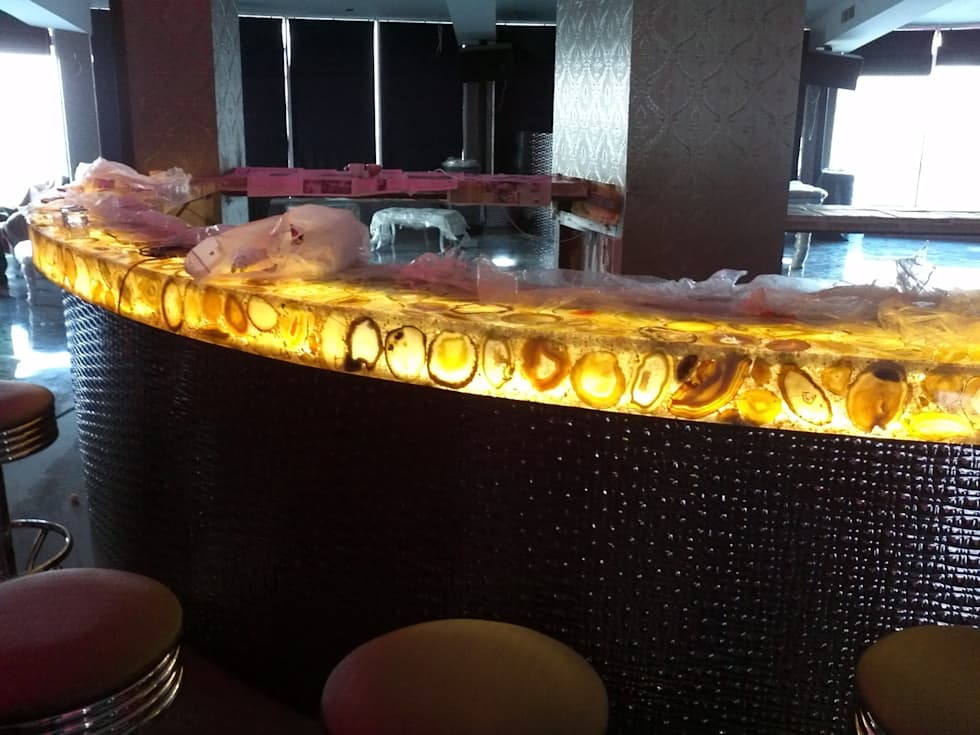 isiklilavabolar – ışıklı tezgahlar:  tarz Bar & kulüpler