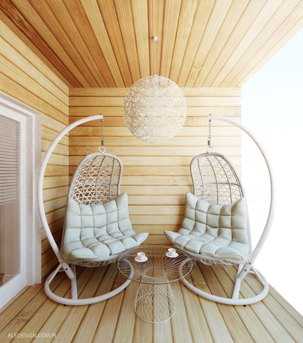 Projekt tarasu: styl , w kategorii Ogród zaprojektowany przez Ale design Grzegorz Grzywacz