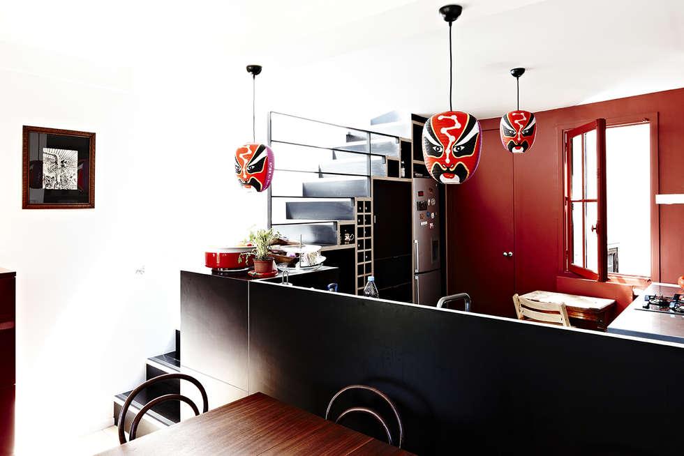 Salle à manger: Salle à manger de style de style Moderne par Capucine de Cointet architecte