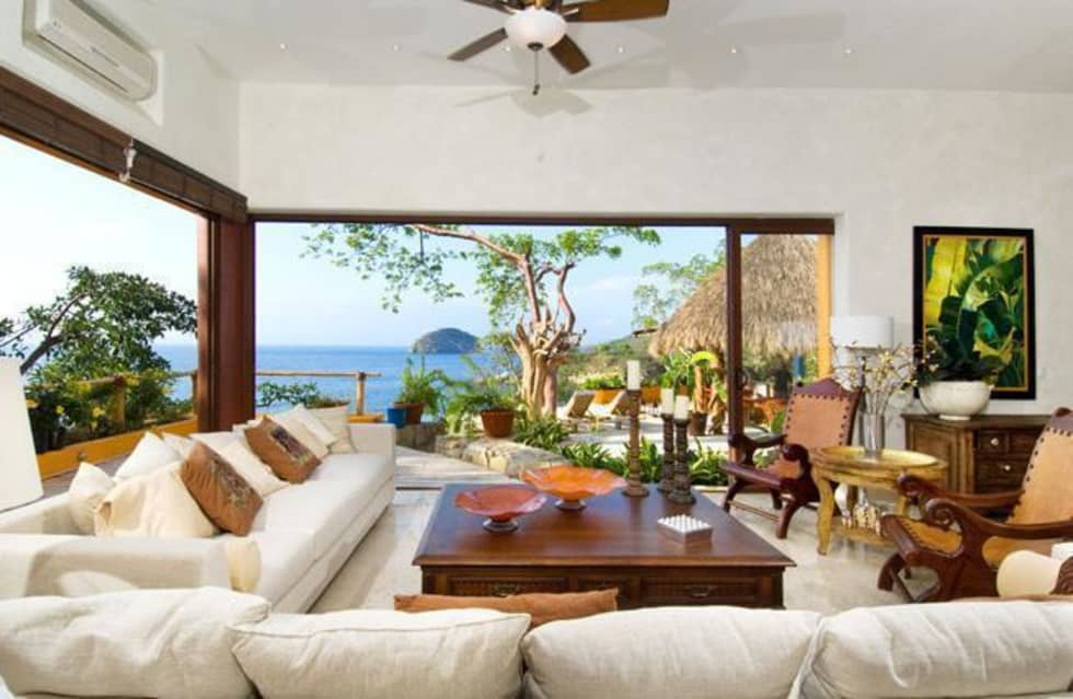 Fotos de decora o design de interiores e remodela es for Sala de estar estilo mediterraneo