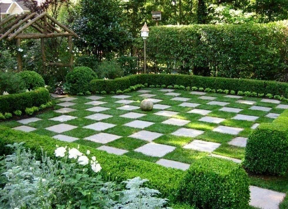 Piccoli giardini realizzati in citt small garden in the - Foto piccoli giardini ...