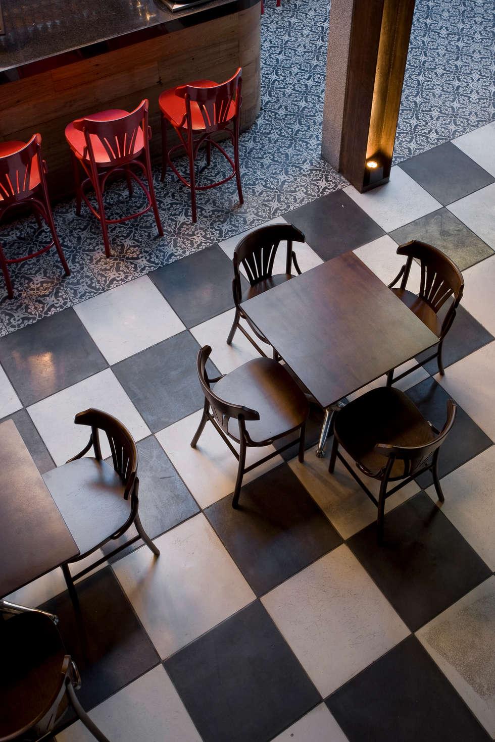 Detalhe : Bares e clubes  por Fernanda Sperb Arquitetura e interiores