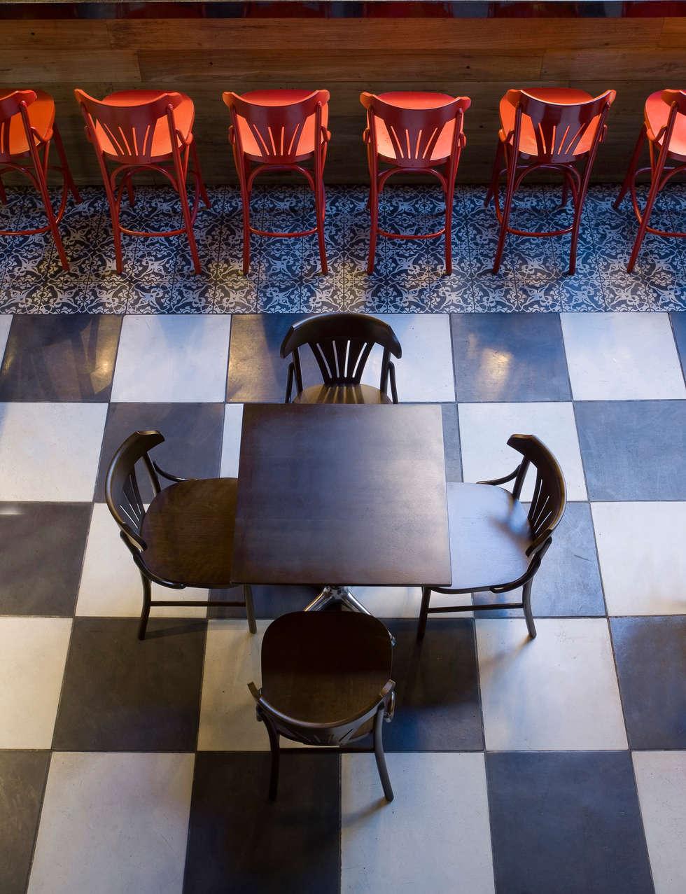 Detalhe: Bares e clubes  por Fernanda Sperb Arquitetura e interiores