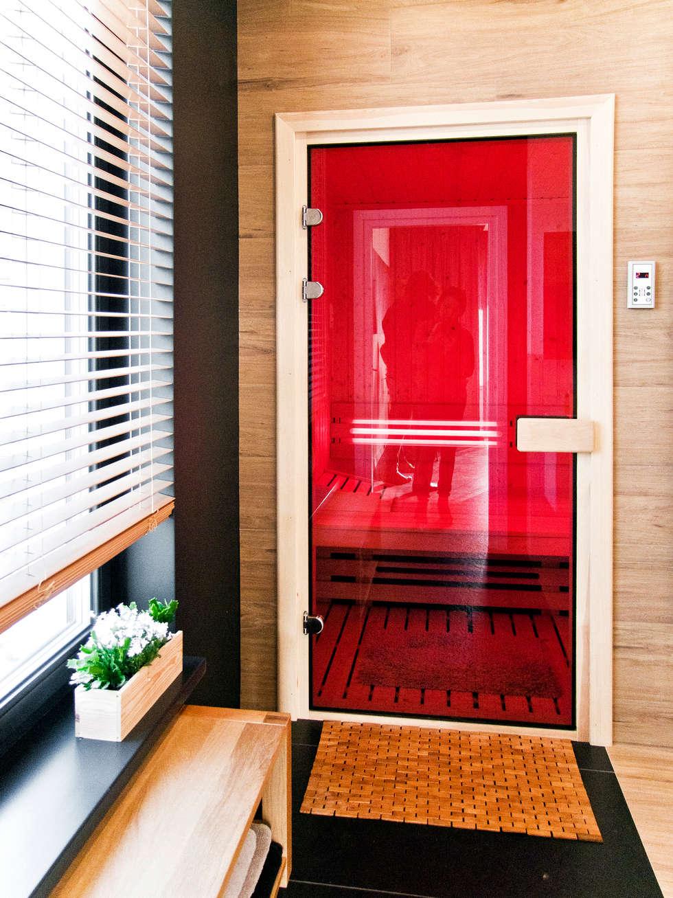 Third House from the Sun / wnętrza: styl minimalistyczne, w kategorii Spa zaprojektowany przez Le 2 Workshop