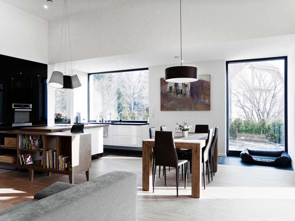 Third House from the Sun / wnętrza: styl , w kategorii Salon zaprojektowany przez Le 2 Workshop