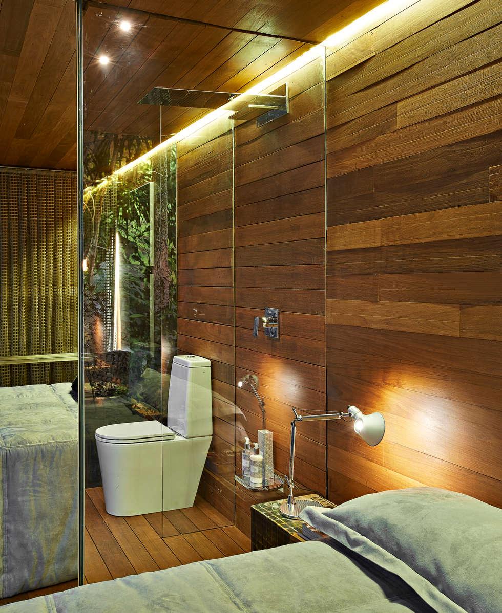 Pocket House: Quartos  por Cristina Menezes Arquitetura